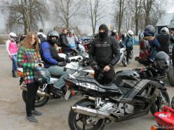 В Слуцке состоялось открытие мотосезона 2015