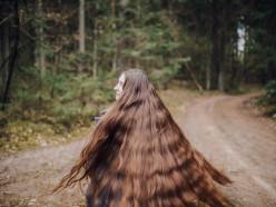Белорусская Рапунцель: случчанка отрастила волосы длиной больше метра