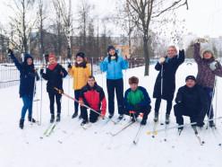 В Слуцком государственном колледже провели лыжную эстафету
