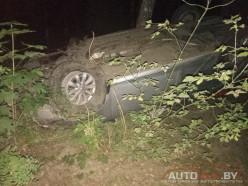 Пьяный водитель Toyota совершил ДТП под Солигорском
