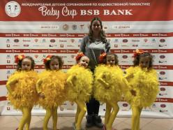 В этом году случчане снова стали призёрами турнира Baby Cup