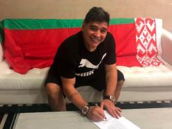 Диего Марадона стал председателем футбольного клуба «Динамо-Брест»