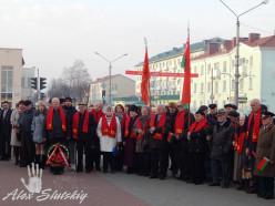 Митинг ко дню Октябрьской революции