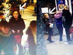 Двое в «Радуге» присвоили себе кошелёк пенсионерки. Милиция ищет девушку-свидетеля на фото