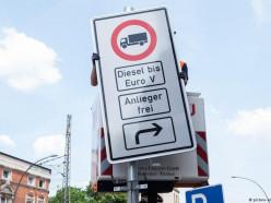Германия начинает вводить ограничения на въезд дизельных автомобилей
