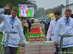 Как в Слуцке проходил День народного единства. Фоторепортаж