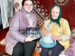 В Слуцком районе три долгожителя старше 100 лет. Всех их поздравили сотрудники центра соцобслуживания