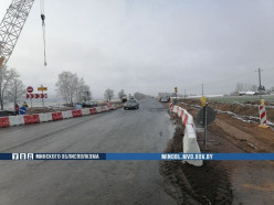 В Слуцком районе в ДТП пострадал дорожник - на реконструируемом участке Р23