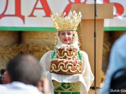 Под флагом лидерства в Слуцком районе отпраздновали «Дожинки». Фото