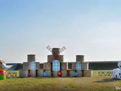 Фигура из соломы возле деревни Заполье признана лучшей композицией