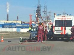 Под Солигорском насмерть разбился мотоциклист (обновлено)