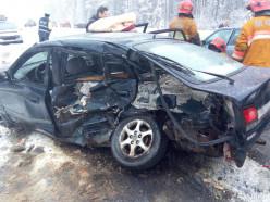 Следователи устанавливают обстоятельства ДТП, произошедшего 24 января в р-не д.Буда-Гресская
