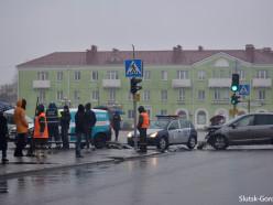 ДТП на «исполкоме»: оба водителя проехали на зелёный свет