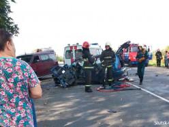 Серьёзное ДТП произошло в 11-м городке, потребовалась помощь спасателей (обновлено)