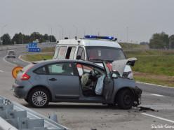 ДТП на «слуцкой объездной»: водитель в последний момент заметил дорожников