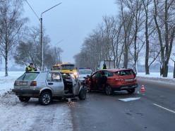 Серьёзное ДТП произошло вблизи АЗС «Лукойл» по улице Ленина