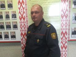 Российская семья поблагодарила слуцких милиционеров за то, что отыскали их отца