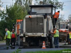 Фотофакт: на самом «убитом» перекрёстке Слуцка начались дорожные работы
