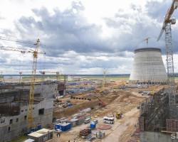 Физический пуск первого энергоблока БелАЭС намечен на февраль 2019 года