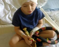 Мама Елисея Серого рассказала о ходе лечения