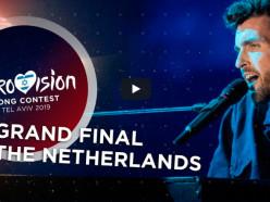 Евровидение-2019: победили Нидерланды, Россия на третьем, а Беларусь на предпоследнем месте