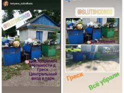 Что нужно сделать дачникам, чтобы в Греске не переполнялись мусорные баки. Комментарий председателя сельсовета