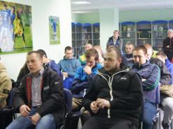 Прошла встреча представителей РОВД и активных болельщиков «Слуцка»