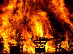 На пожаре в деревне Малый Быков Слуцкого района погиб мужчина
