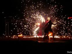 Слуцкий фаер-клуб «Магия Огня» принял участие в международном фестивале огня