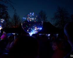 В слуцком парке прошёл «Фестиваль волшебных шаров». Фото, видео