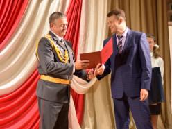 Начальника Слуцкого РОВД Владимира Герего торжественно провели на заслуженный отдых