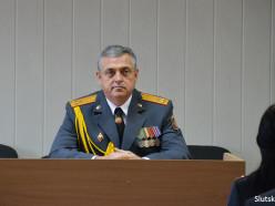 Александр Лукашенко наградил начальника Слуцкого РОВД медалью «За безупречную службу»