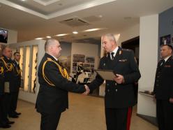 Начальник Слуцкого РОВД получил звание полковника