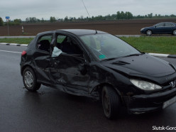 Две серьёзные аварии произошли на трассе Р23 в Слуцком районе