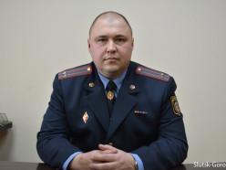 Назначен новый начальник Слуцкого РОВД. Видео интервью