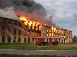 Установлены причины возгорания казармы
