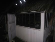 18 января в деревне Горки Слуцкого района горел дом