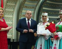 Представители нашего региона отмечены на праздновании 80-летия Минской области