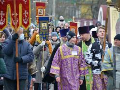 В Слуцке прошёл крестный ход в честь 435-летия Софии Слуцкой. Фото, видео