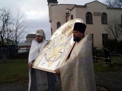 В Слуцк принесена точная копия чудотворной иконы Божией Матери «Скоропослушница»