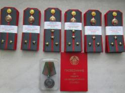 Начальник слуцкой ГАИ награждён медалью «За безупречную службу»