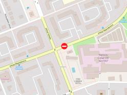 На выходные в Слуцке перекроют улицу Ивановского