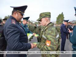Слуцких курсантов посвятили в кадеты