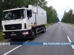 В Слуцком районе произошёл смертельный наезд на женщину