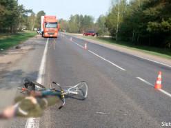 ГАИ устанавливает очевидцев наезда на велосипедиста в деревне Калита Слуцкого района