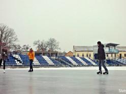 Каток на городском стадионе начнёт работу после Нового года