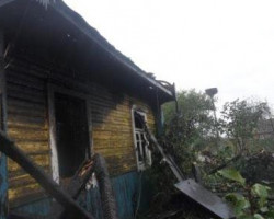 В результате пожара погиб мужчина