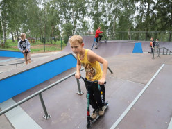 В Копыле открыли современный скейт-парк. Фото