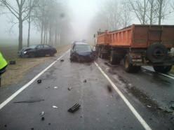 По факту столкновения нескольких автомобилей в Копыльскм районе возбуждено уголовное дело