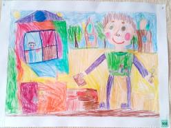 Дети из Слуцка стали победителями в конкурсе рисунков «Всем строители нужны»